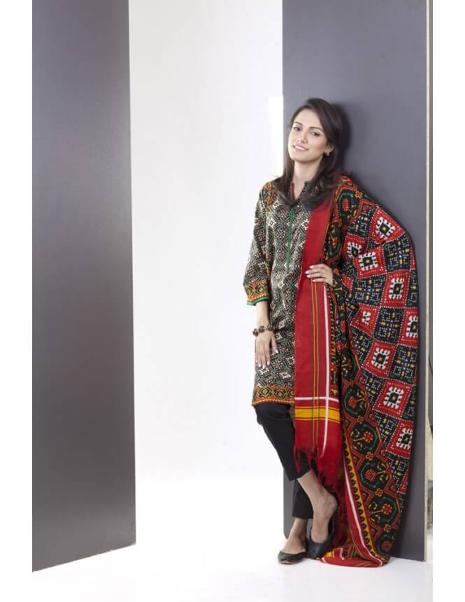 Nishat Exclusive Karandi Collection 2014-15 For Women