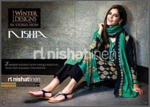 Nishat Fall Winter Karandi For Girls And Womens-2