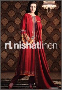Nishat Fall Winter Karandi For Girls And Womens-5