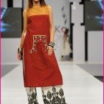 Laila B Sunsilk Fashion Week 2014-07 2014 Fashion Dresses In Pakistan 2014 Fashion Dresses In Pakistan PFDC Maria B Sunsilk Fashion Week Dresses 2014 07 150x150