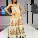 PFDC Maria B Fashion Week Dresses 2014-09