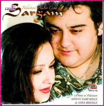 Zeba Bakhtiar and Adnan Sami Khan Film Sargam