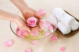 Rose water useful for hands