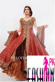nilofar bakhtiar lehenga fashion design 2014-15 Nilofar Bakhtiar Lehenga Fashion Design 2014-15 5