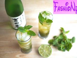 New Iced Green Tea Mojito