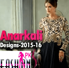 Beautiful Anarkali Dresses New Design 2015