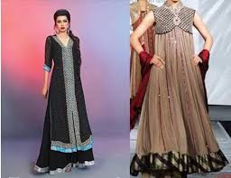 Fancy Dresses 2015 Collection For Beautiful Pakistani Girls