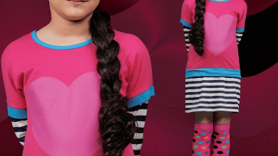 Latest Kids Wear Dress For Grilz Winter Collection