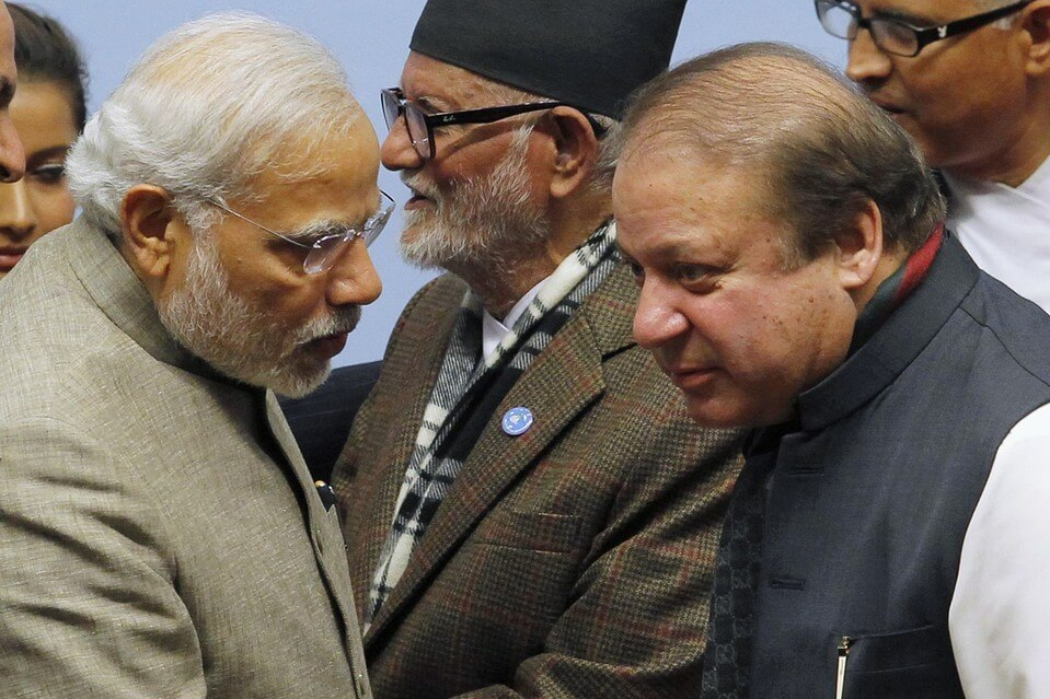 Pakistan and India Political and Diplomatic Leaders Negotiations
