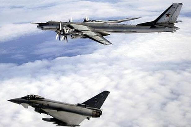 Russian Aircraft the First Time the British Military Action