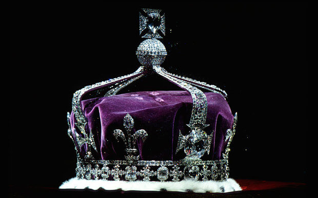 Queen Kohinoor Diamond from British Malika