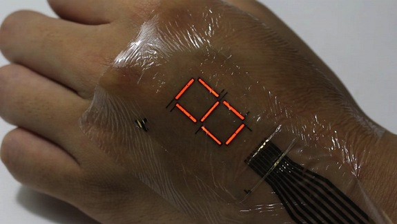 Scientists have Developed an Electronic Skin