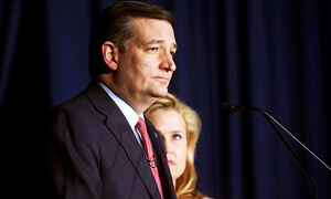 US Presidential Nomination Race Giving Ted Cruz