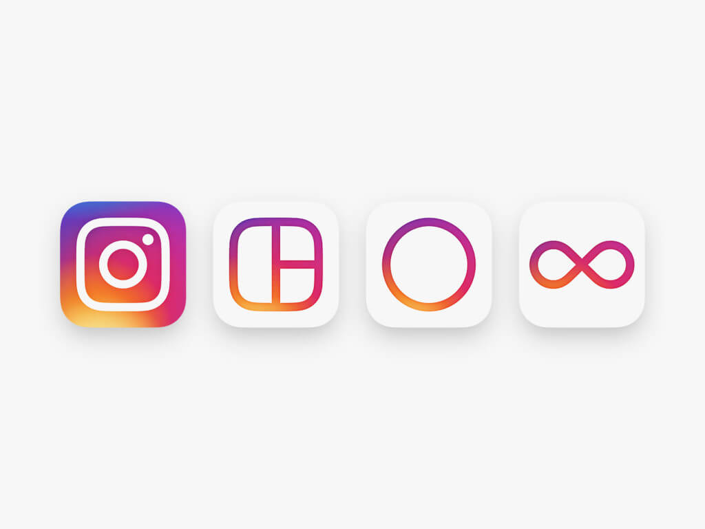 Free Instagram icons Changes in Interface