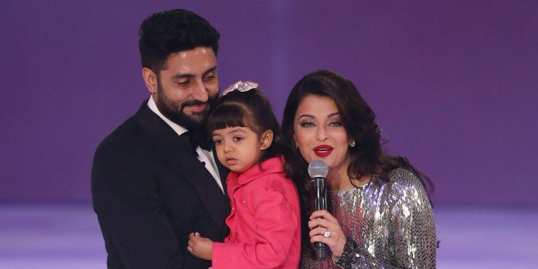 Aishwarya Abhishek love Purple Lipstick