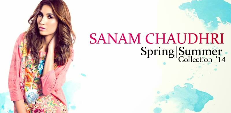 Sanam Chaudhri Boutique Collection Dresses