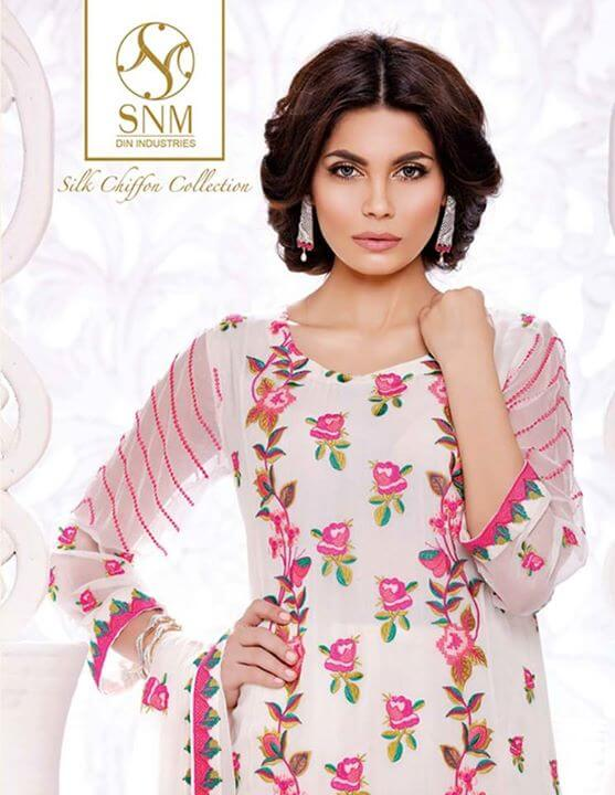 Silk Chiffons for ladies
