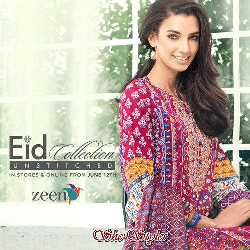 Unstitched Collection zeen lawn eid ul adha festive collection 2016-2017 Zeen Lawn Eid UL Adha Festive Collection 2016-2017 Unstitched Collection