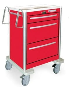 Features of The Medical and Emergency Crash Trolleys