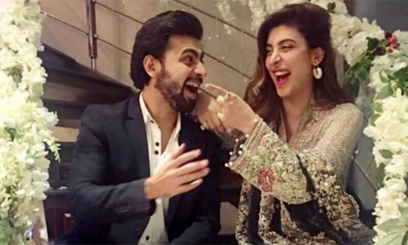 Urwa and Farhan Saeed and Bill Wedding
