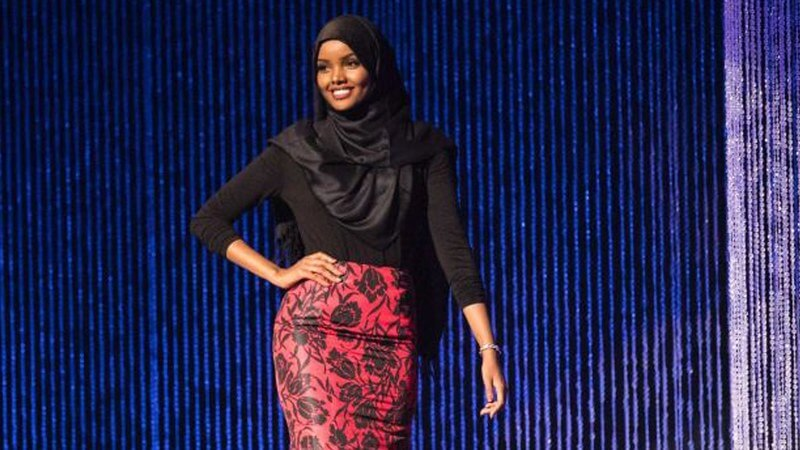 Young Halima Aden First Usa Hijab Wearing to Miss Minnesota
