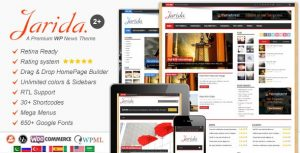 Download Jarida Premium Wp Theme Free