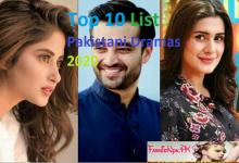 Top 10 List Pakistani Dramas 2020